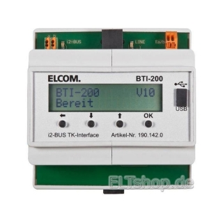 Elcom TK Interface BTI-200